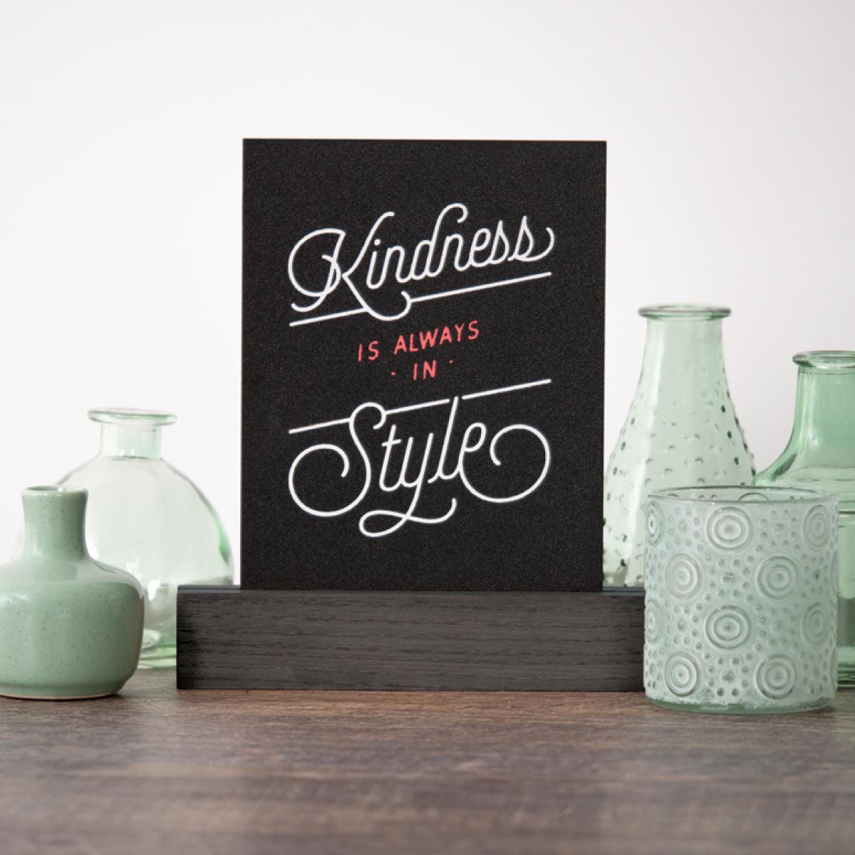 Kindness FInished
